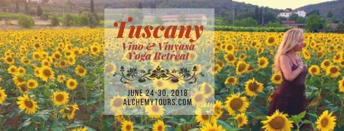 Tuscany fb header 2018 sunflowers