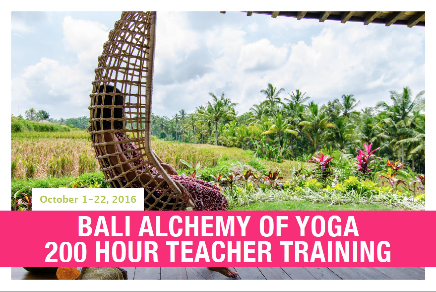 2016 destination yoga teacher training | Silvia Mordini