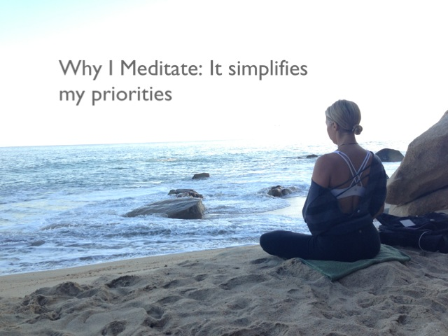 whyImeditate