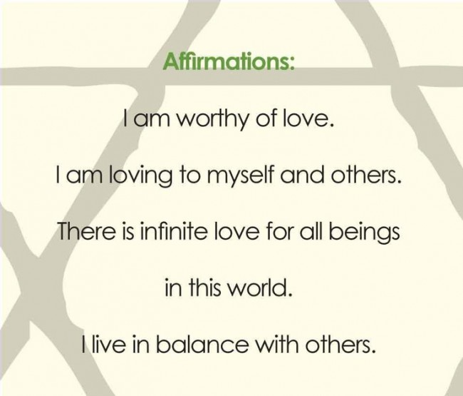 fourthchakra affirmation