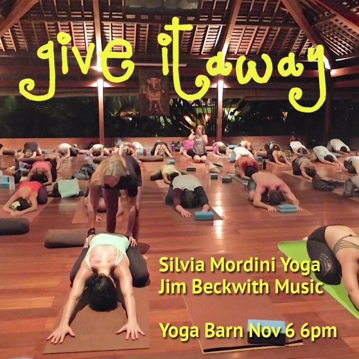 giveitaway yoga barn nov 2015