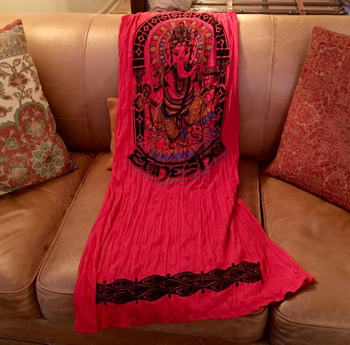 Ganesha Red Dress