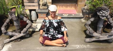 Monkey Joy Meditate Bali