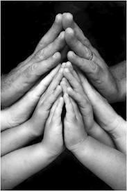peace hands namaste