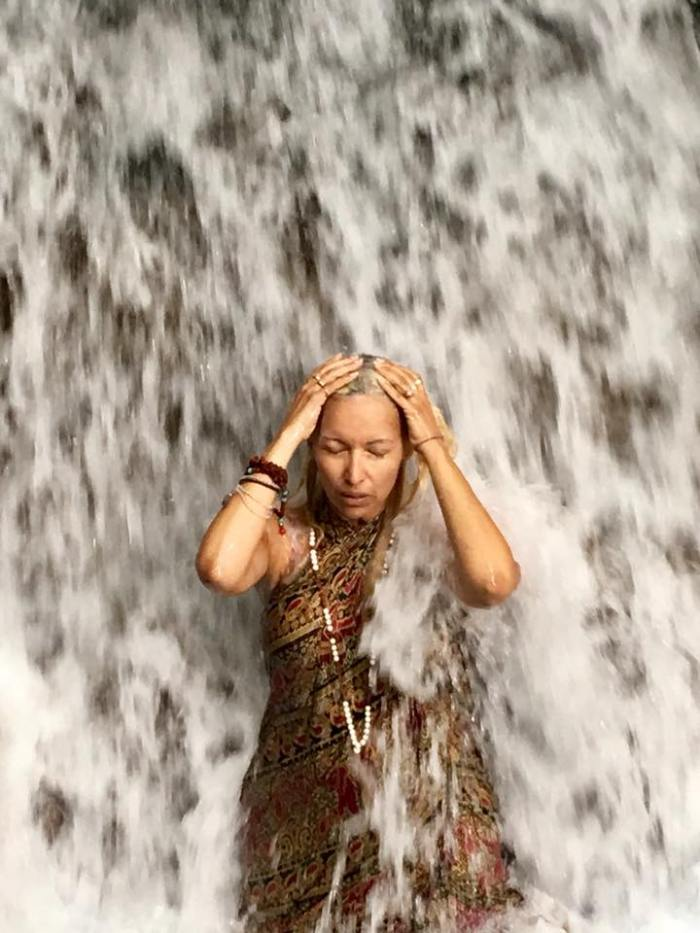 silvia waterfall temple bali 2017