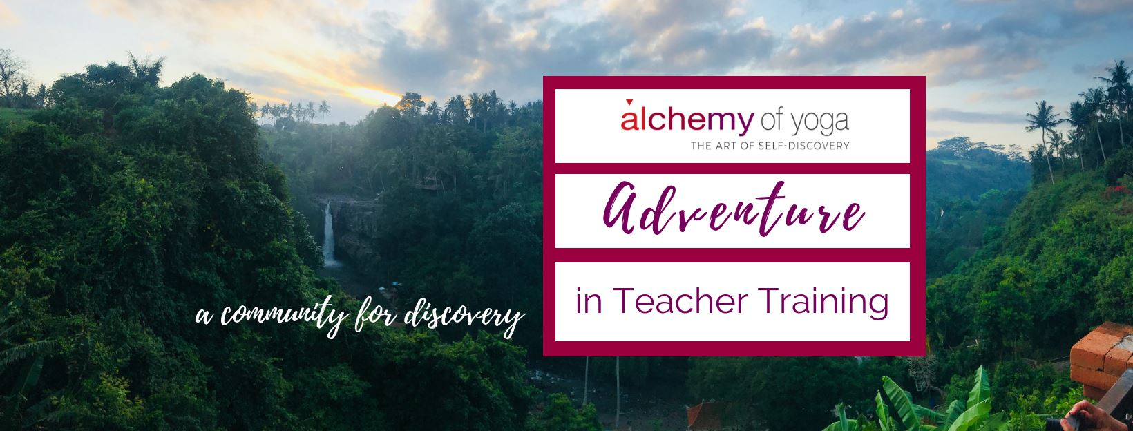 facebook cover alchemy of yoga adventures