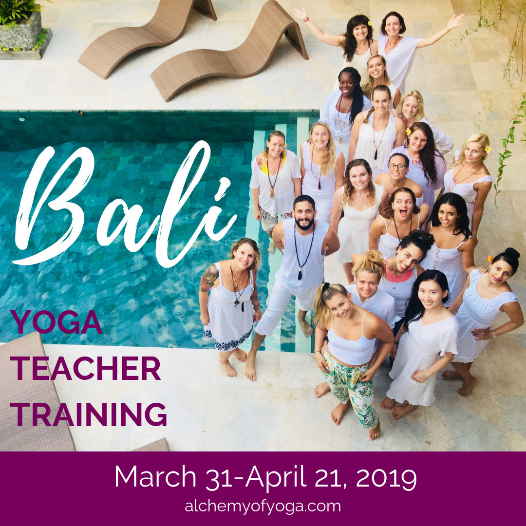 Bali Yoga Teacher Training March 31st To April 21st 2019 Silvia